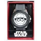 Star Wars Stormtrooper Grey Silicone Strap Watch