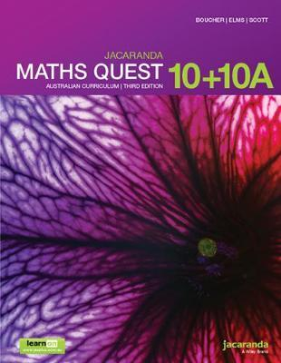 Jacaranda Maths Quest 10 AC 3e LO & Print by Kylie Boucher