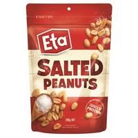 Eta Salted Peanuts Pouch (200g)