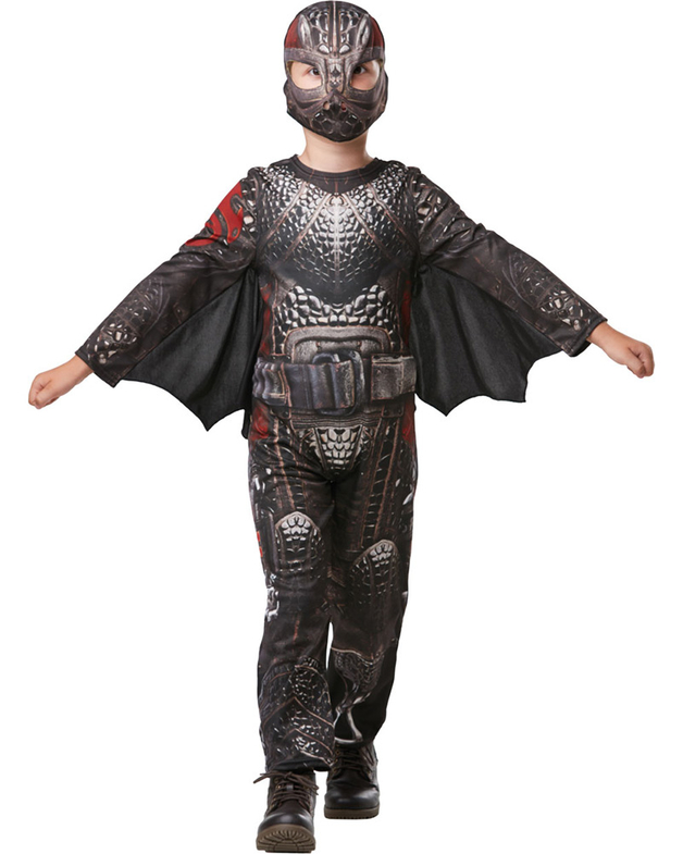 How to Train Your Dragon 3: Hiccup Battlesuit - Children's Costume (Small)