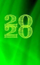 2020 Green Journal by Carol Ann Cartaxo