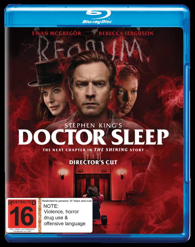 Doctor Sleep on Blu-ray