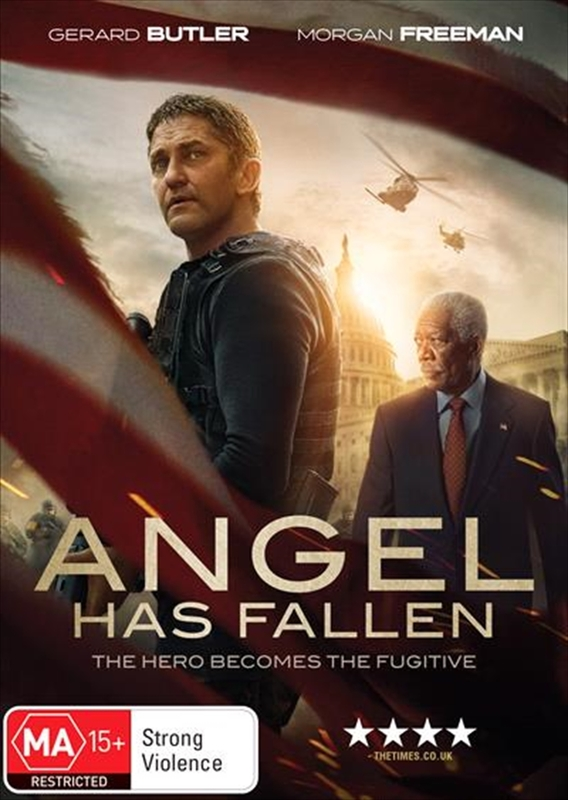 Angel Has Fallen on DVD