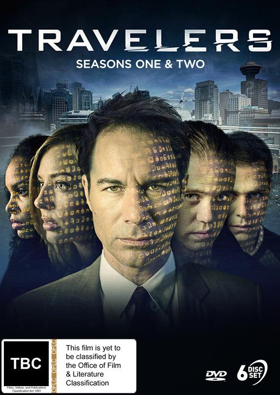 Travelers - Seasons One & Two on DVD
