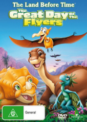 The Land Before Time - Vol 12 - The Great Day Of The Flyers on DVD