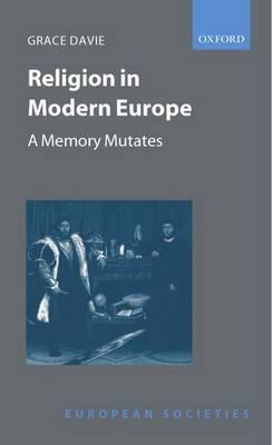 Religion in Modern Europe by Grace Davie image