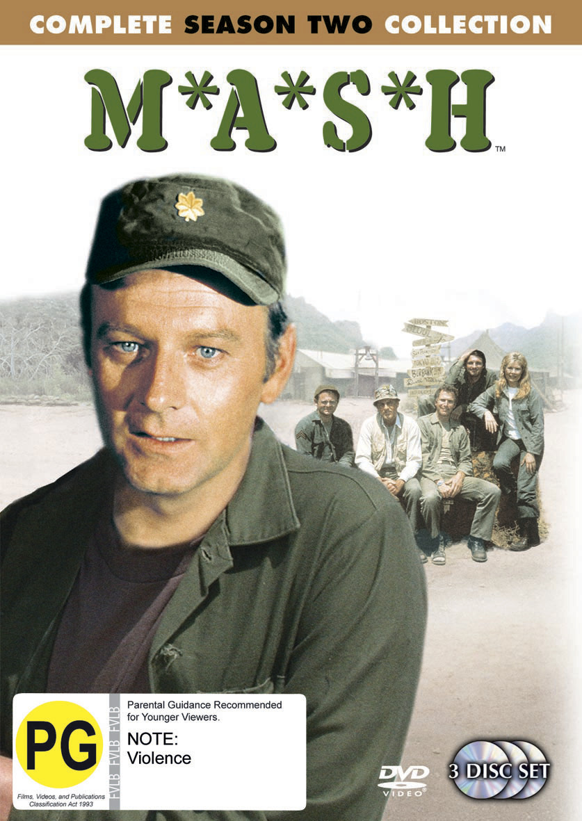 MASH - Complete Season 2 Collection (3 Disc Set) (New Packaging) on DVD image
