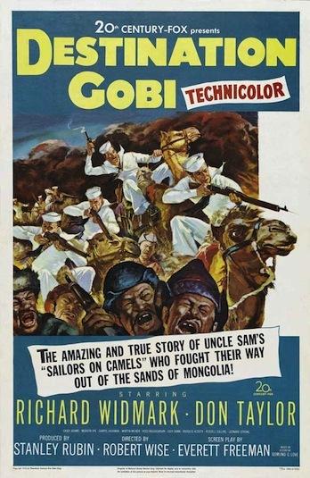 Destination Gobi on DVD