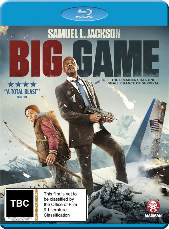 Big Game on Blu-ray