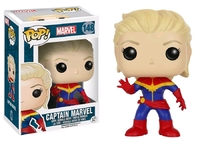 Captain Marvel - Unmasked Pop! Vinyl Figure