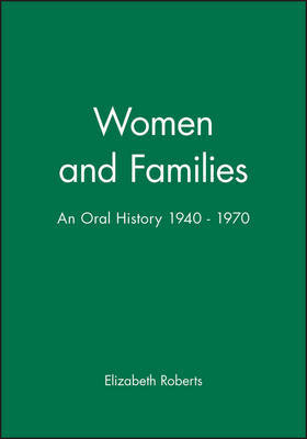 Women and Families by Elizabeth Roberts
