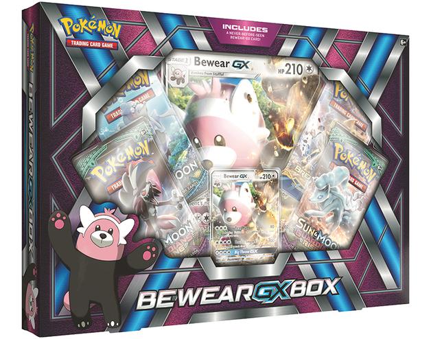 Pokemon TCG Bewear- GX Box
