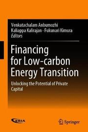 Financing for Low-carbon Energy Transition