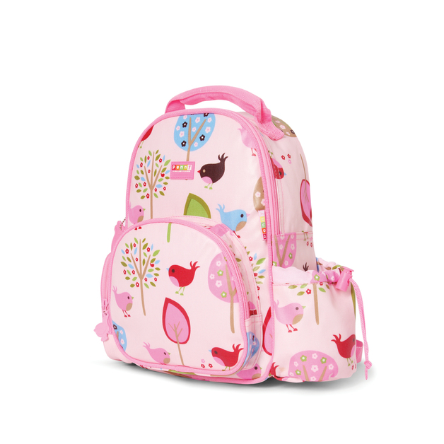 Chirpy Bird Medium Backpack