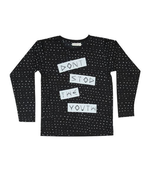 Zuttion Kids: L/S Round Neck Tee Don't Stop The Youth - 9-10