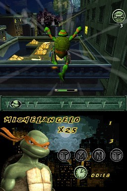 Teenage Mutant Ninja Turtles for Nintendo DS image