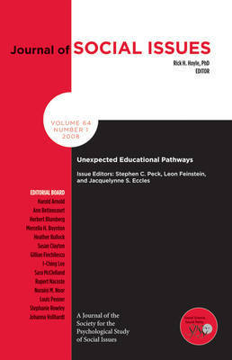 Unexpected Educational Pathways by Elizabeth A. Peck