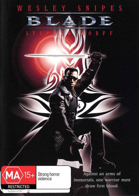 Blade on DVD