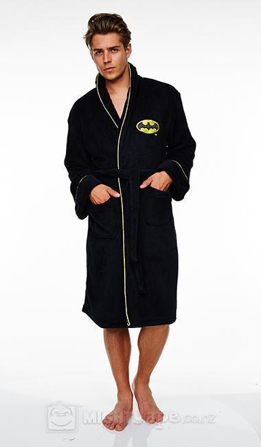 Batman Fleece Dressing Gown image ... 17cd00e28