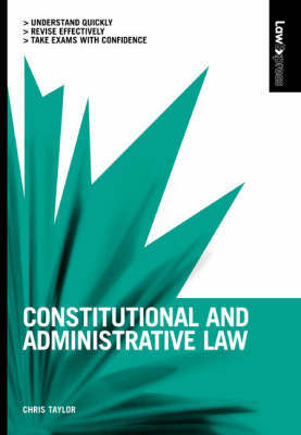 Constitutional and Administrative Law by Chris Taylor image