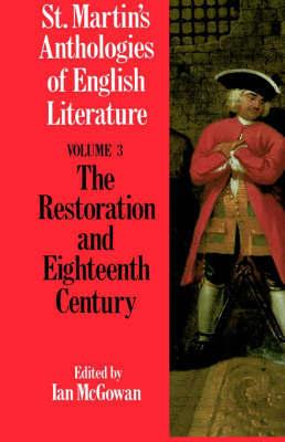 St. Martin's Anthologies of English Literature by Palgrave Macmillan Ltd