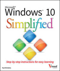 Windows 10 Simplified by Paul McFedries