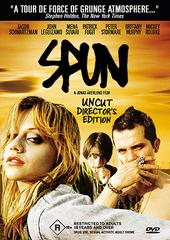 Spun - Uncut Director's Edition on DVD