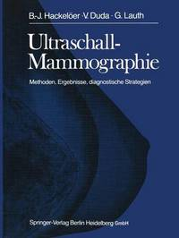 Ultraschall-Mammographie by B-.J. Hackeloer