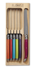 Stainless Steel Table Knives - Multi (Set of 6)