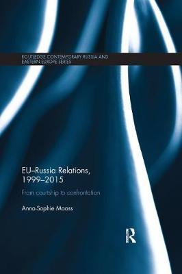 EU-Russia Relations, 1999-2015 by Anna-Sophie Maass image