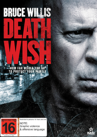 Death Wish on DVD