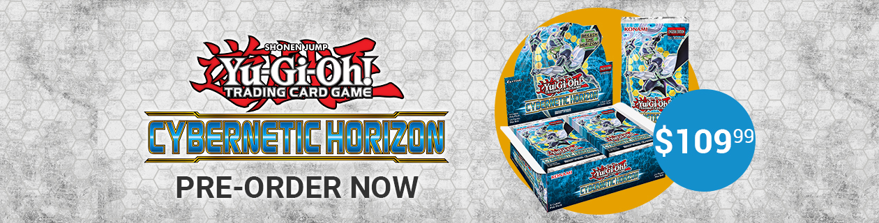 Pre-order Yu-Gi-Oh! Cybernetic Horizon now!