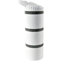 Cyclone Cup Core Dry Storage Containers - White