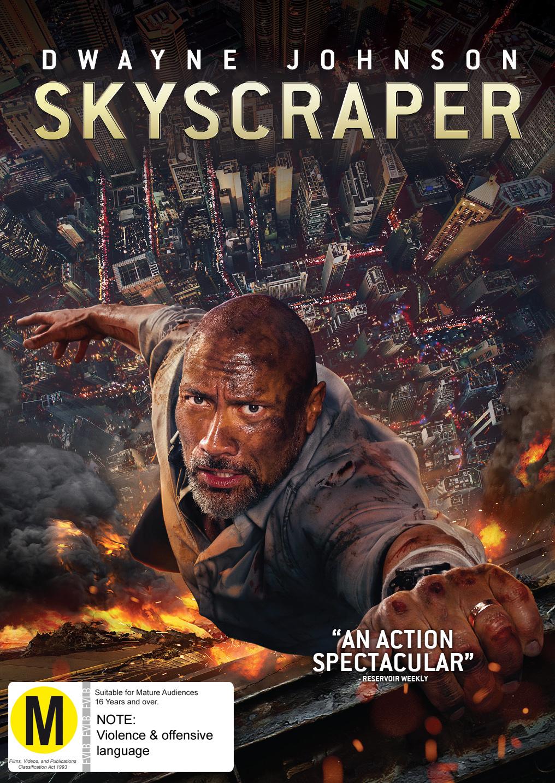 Skyscraper on DVD image