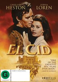 El Cid on DVD