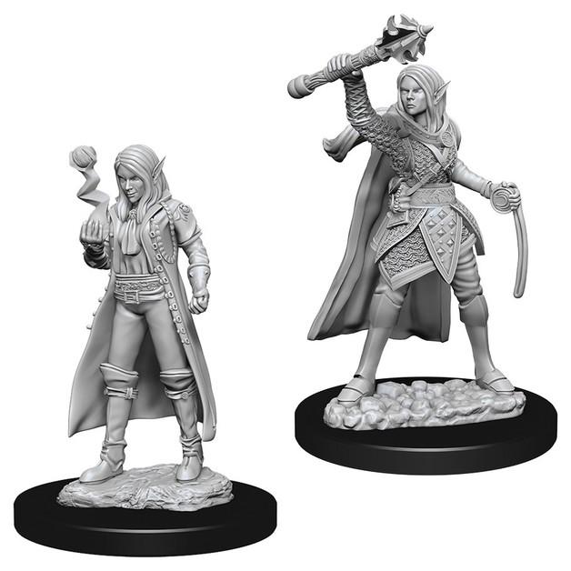 D&D Nolzur's Marvelous: Unpainted Miniatures - Female Elf Cleric