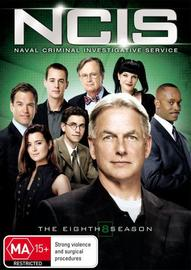 NCIS - Complete Season 8 on DVD