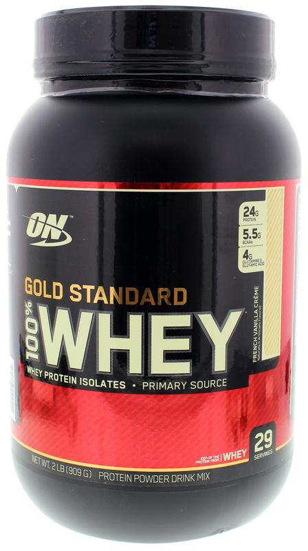 Optimum Nutrition Gold Standard 100% Whey - French Vanilla (907g)