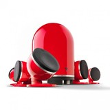 Focal Dome 5.1 Speaker System (Red)