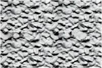 JTT Styrene Pattern Sheets Rock Embankments (2pk) - H0 Scale