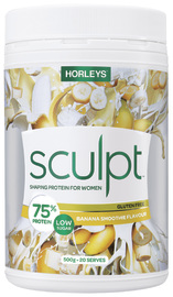 Horleys Sculpt - Banana Smoothie (500g)