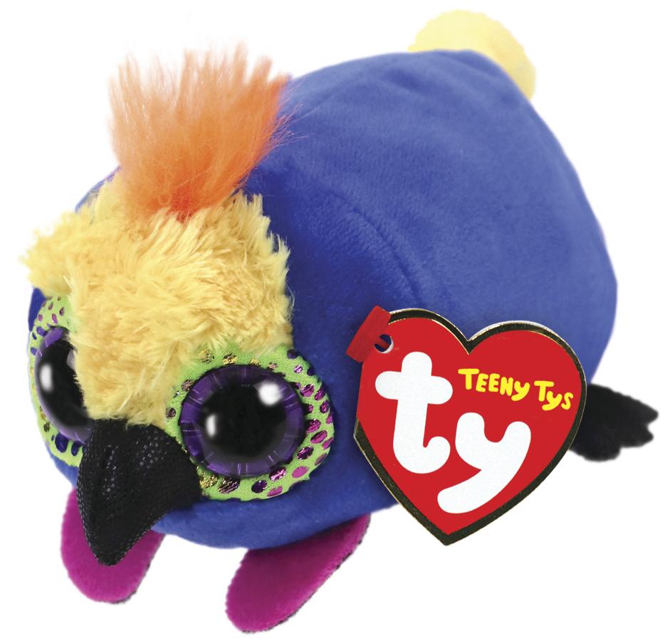 Ty Teeny: Diva Parrot - Small Plush image