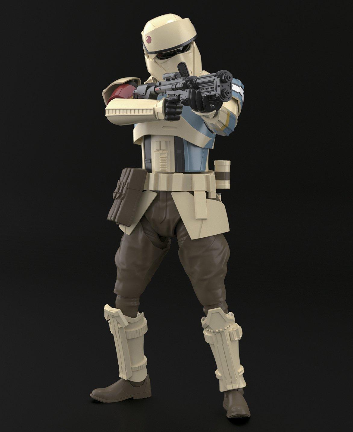 Star Wars 1/12 Shoretrooper - Scale Model Kit image
