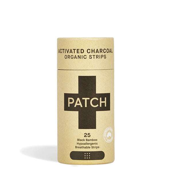 PATCH: Activated Charcoal Bamboo Adhesive Strips (25pk)