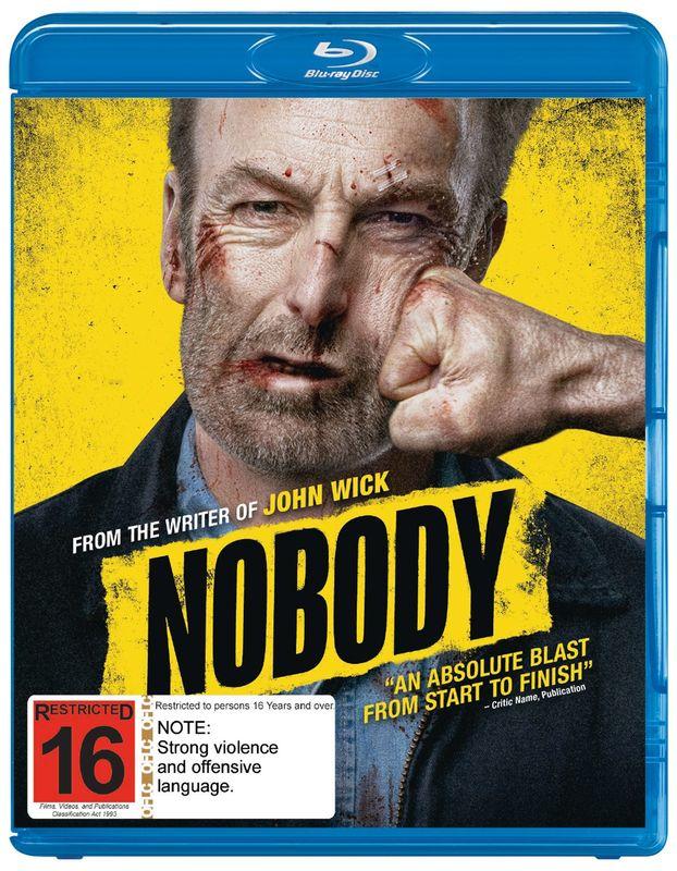 Nobody on Blu-ray