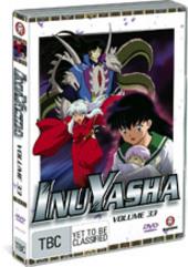 InuYasha - Vol. 33 on DVD
