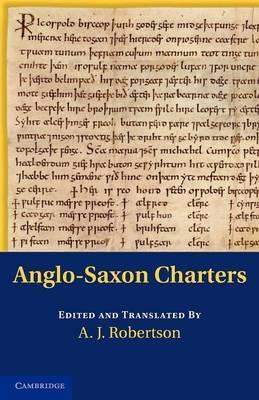 Anglo-Saxon Charters image
