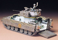 Tamiya U.S. M2 Bradley Infantry Fighting Vehicle 1/35 Model Kit image