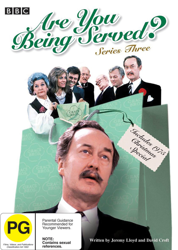 Are You Being Served? - Series 3 (2 Disc Set) on DVD