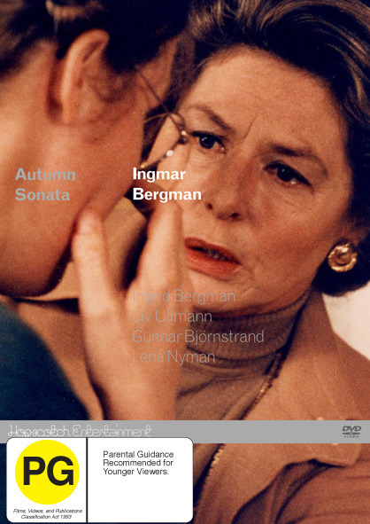 Autumn Sonata on DVD